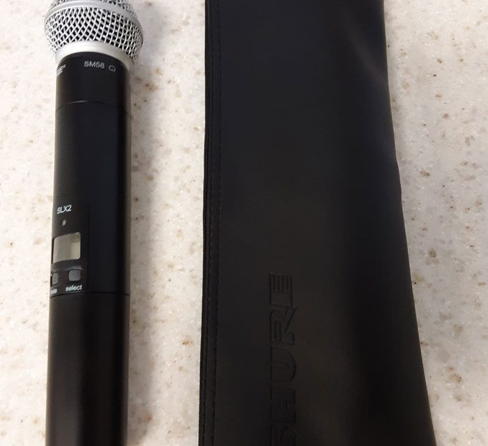 Shure QLXD2 Wireless Microphone